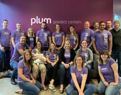 Plum's 21-person team is expected to double in the next year following today's announcement. (CNW Group/Plum)