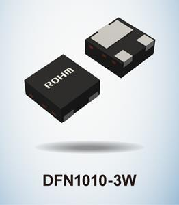 New Ultra-Compact AEC-Q101 Qualified MOSFETs from ROHM