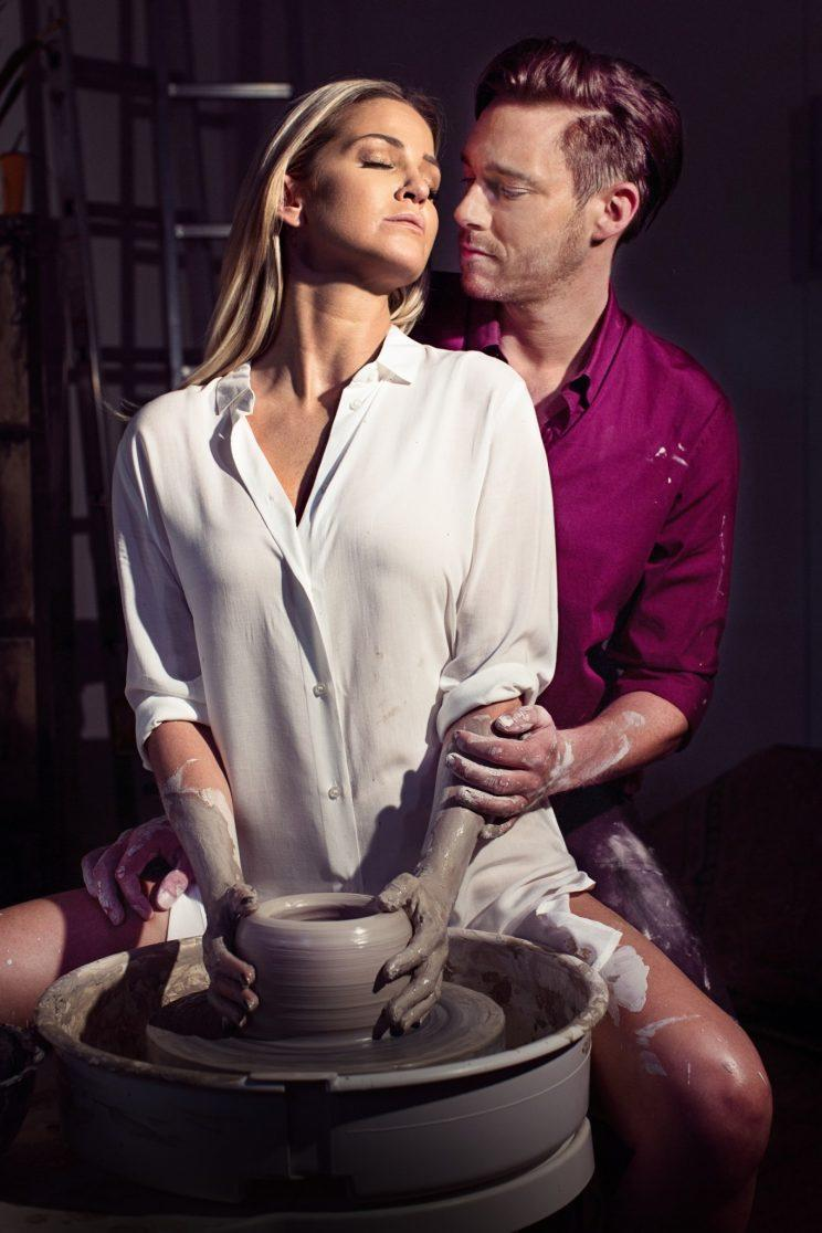 Sarah Harding as Molly in Ghost the Musical