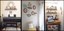 The Mumbai apartment is filled with warm and functional nooks; for music, for books and more recently, for work.