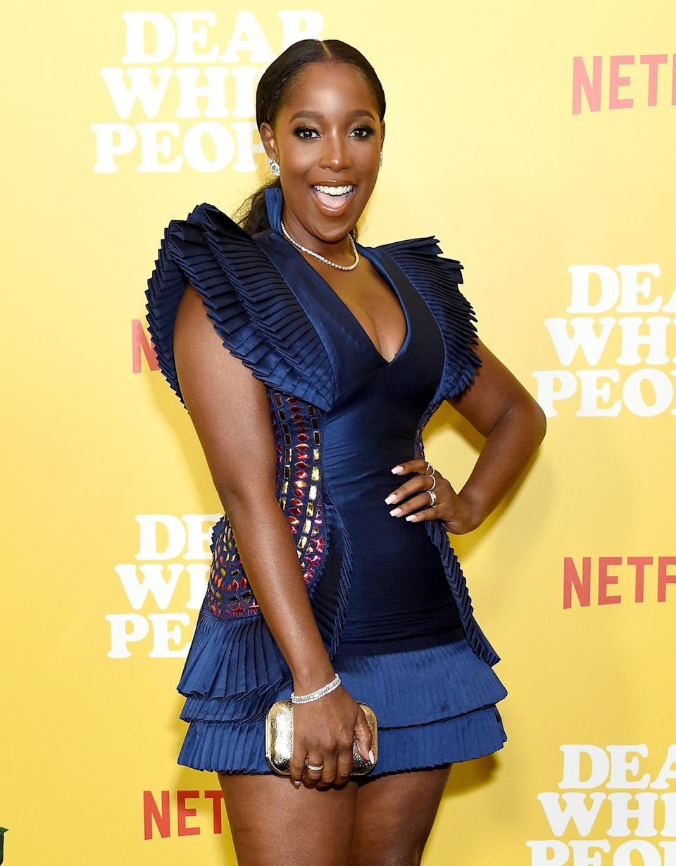 <p>Featherson reunited with <strong>Dear White People</strong> costar Horton in 2020's <strong>Bad Hair</strong>. She hasn't announced her next big on-screen project after wrapping her role as Joelle on the Netflix series. Featherson was also in the 2014 <strong>Dear White People</strong> movie.</p>