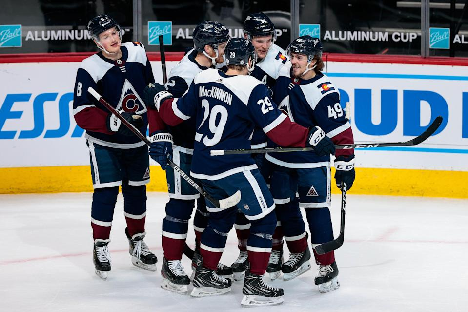 The Colorado Avalanche captured the 2021 Presidents' Trophy, award to the NHL's top team. They are a top contender to win the Stanley Cup.