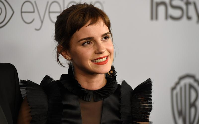 Emma Watson has made a £1 million donation to the UK Justice and Equality Fund - 2018 Invision