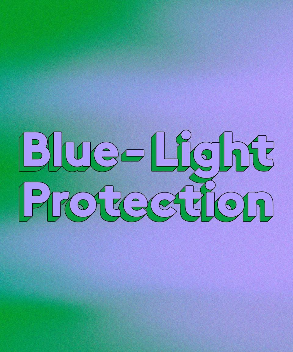 """<h3>Blue-Light Protection</h3><br>By now we know that sunscreen is imperative to keeping our skin protected against cancer and visible signs of skin damage, but wearing SPF at home is just as vital as when we were able to go to the beach — even if your closest beach was Coney Island. Blue light, like the kind that emanates from our computer screens, can potentially impact the skin.<br><br>Board-certified dermatologist Corey L. Hartman, MD, founder of <a href=""""https://skinwellness.com/"""" rel=""""nofollow noopener"""" target=""""_blank"""" data-ylk=""""slk:Skin Wellness Dermatology"""" class=""""link rapid-noclick-resp"""">Skin Wellness Dermatology</a>, explains the domino effect as follows: """"When blue light penetrates the skin, reactive oxygen species are generated, which leads to DNA damage, causing hyperpigmentation and sagginess."""" Protecting your skin from photoageing and UV light overall can make you proactive in supporting your skin's health."""