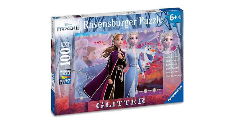 Disney Frozen II Glitter XL Jigsaw Puzzle, 100 Pieces