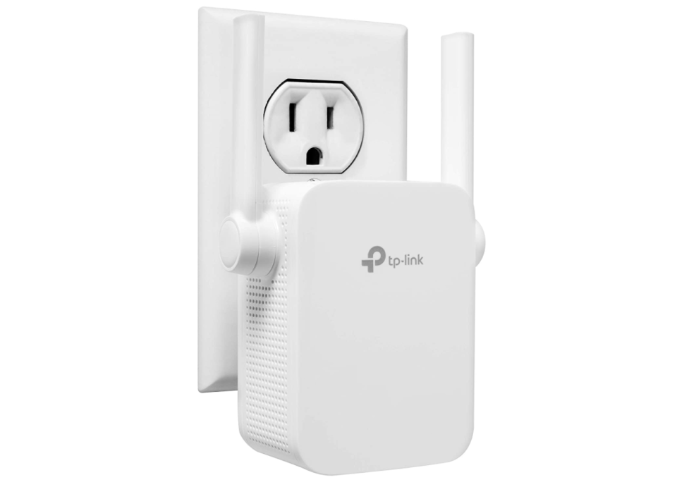 TP-Link N300 WiFi Range Extender. Image via Amazon.
