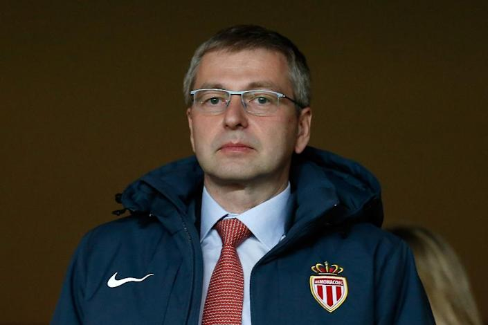 Dmitriy Rybolovlev, pictured on March 1, 2015 in Monaco, was married to his wife Elena for 23 years, but have been battling over the terms of their divorce since 2008 (AFP Photo/Valery Hache)