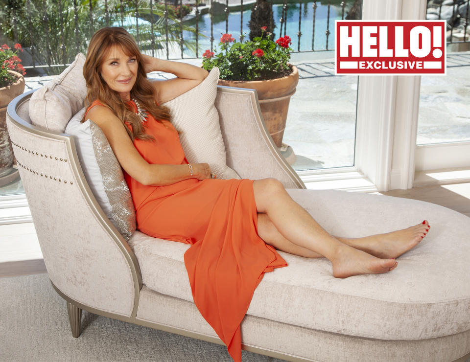 Jane Seymour in Hello! magazine (Trevor Leighton/Hello!)
