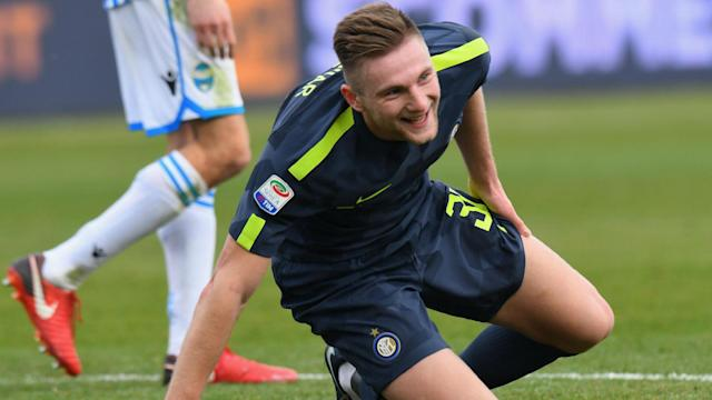 Milan Skriniar angered Inter fans by appearing to flirt with other clubs in a recent interview, but he insists he has been misquoted.