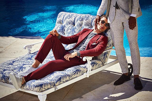 Suit Supply's sexy ad campaign has triggered mixed feelings. (Photo: Suit Supply)