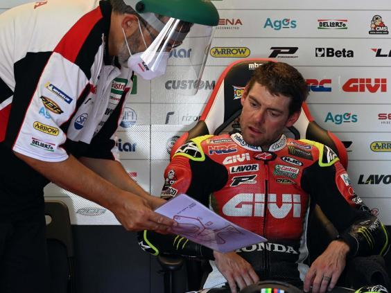 MotoGP will have coronavirus safety measures in force this weekend (AFP via Getty)