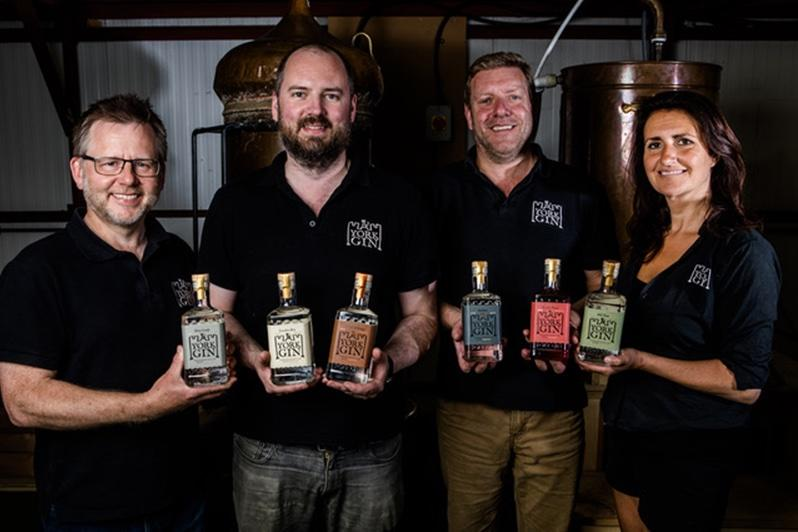 York Gin makes six award-winning gins using traditional and sustainable methods, with a mission to reflect the city's historic roots