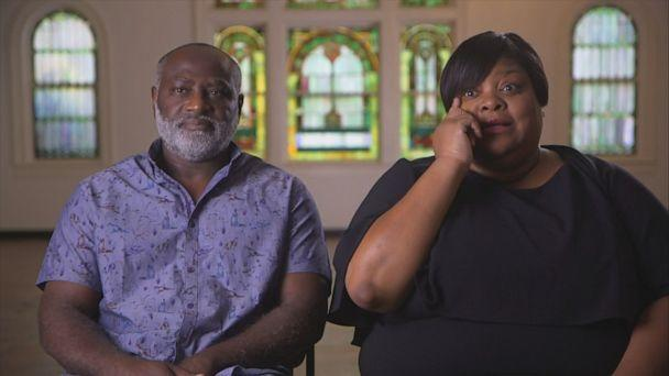 PHOTO: Heather and Tyrone Coggins are the niece and brother of Timothy Coggins, who was murdered in a racially motivated attack in 1983. They spoke about how their story relates to Ahmaud Arbery and George Floyd, who were killed this year. (ABC News)