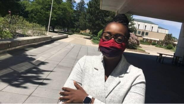 Arielle Kayabaga, a London city councillor, attended Monseigneur-Bruyère in high school, but said she transferred to another school before graduating due to what she called a climate of racism at the school.