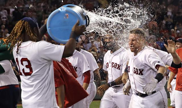 The AL East will be a battle the final two months between the Boston Red Sox and the New York Yankees. (AP)