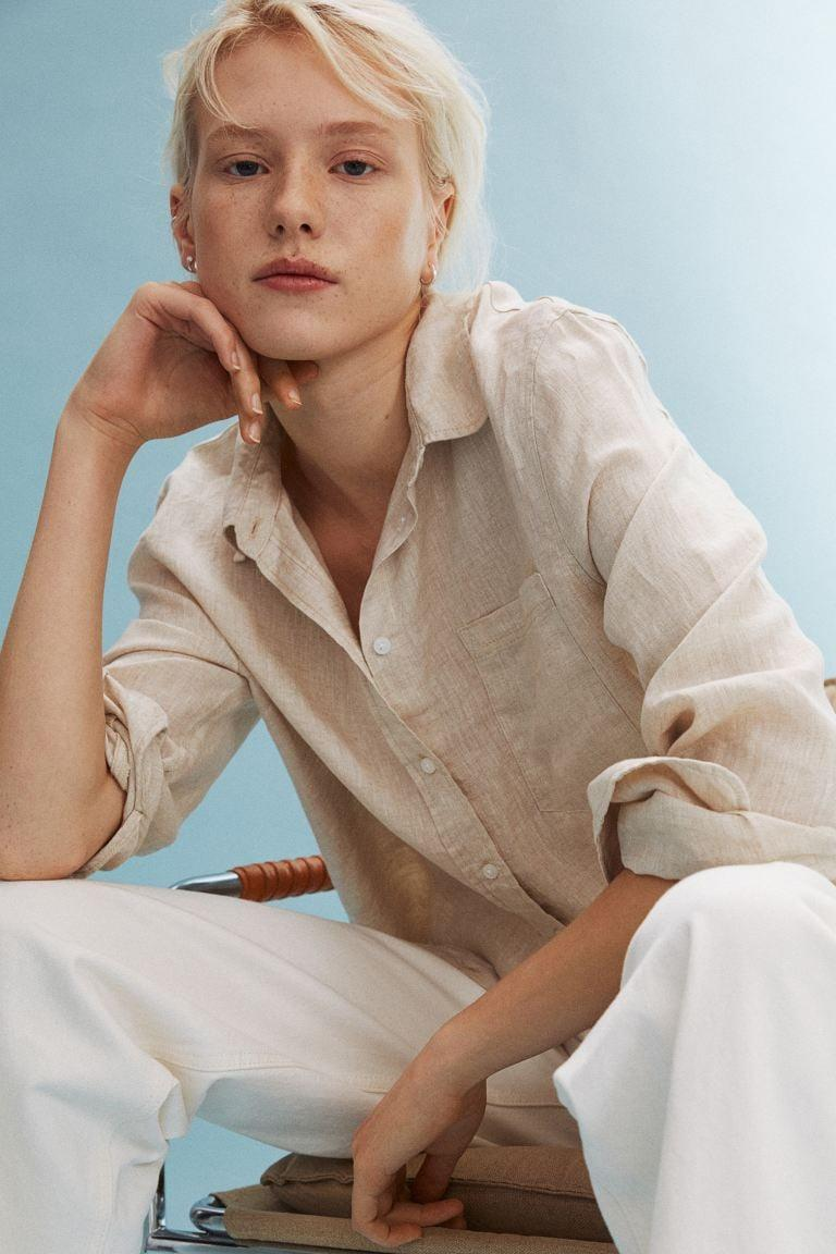 <p>Pair the <span>H&amp;M Linen Shirt</span> ($25) with lightweight pants. </p>