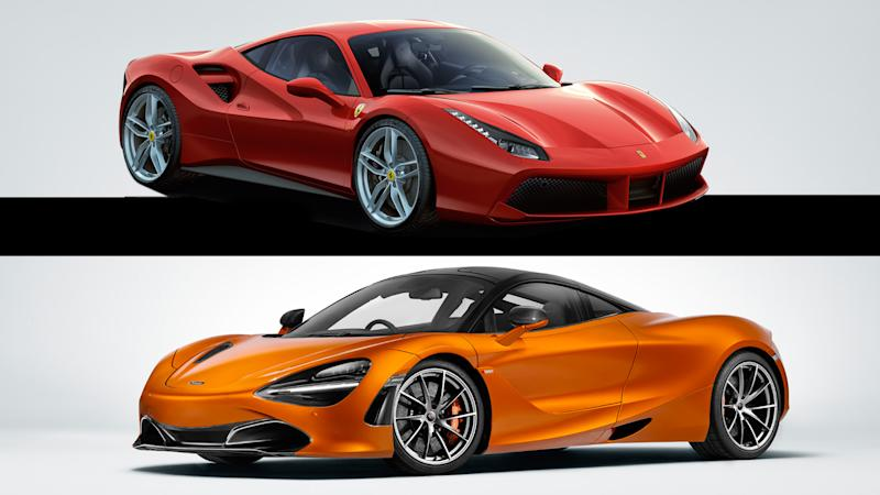 Can You Tell Apart a McLaren 720S and Ferrari 488 GTB Based off Their Exhaust Notes?