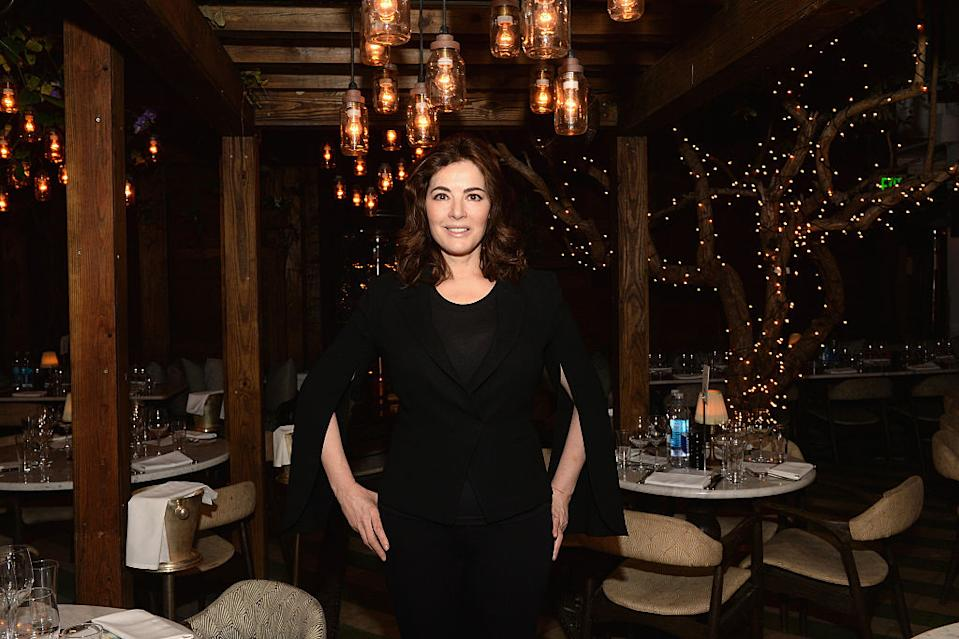 Nigella Lawson has revealed her unconventional method for cooking chips, pictured in 2016. (Getty Images)