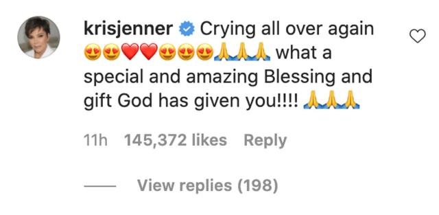 Kim Kardashian and Sisters Congratulate Kylie Jenner on Second Pregnancy