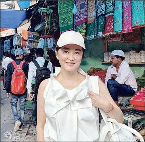 The former actress gained weight significantly last year due to the pandemic