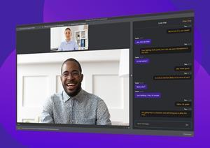 Back channel chat feature in Wirecast