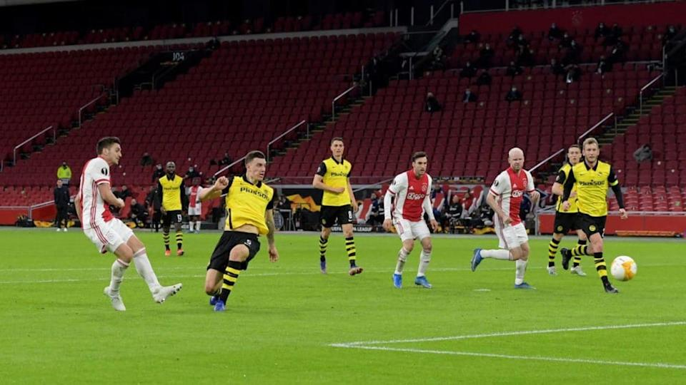 Dusan Tadic in Ajax-Young Boys | BSR Agency/Getty Images