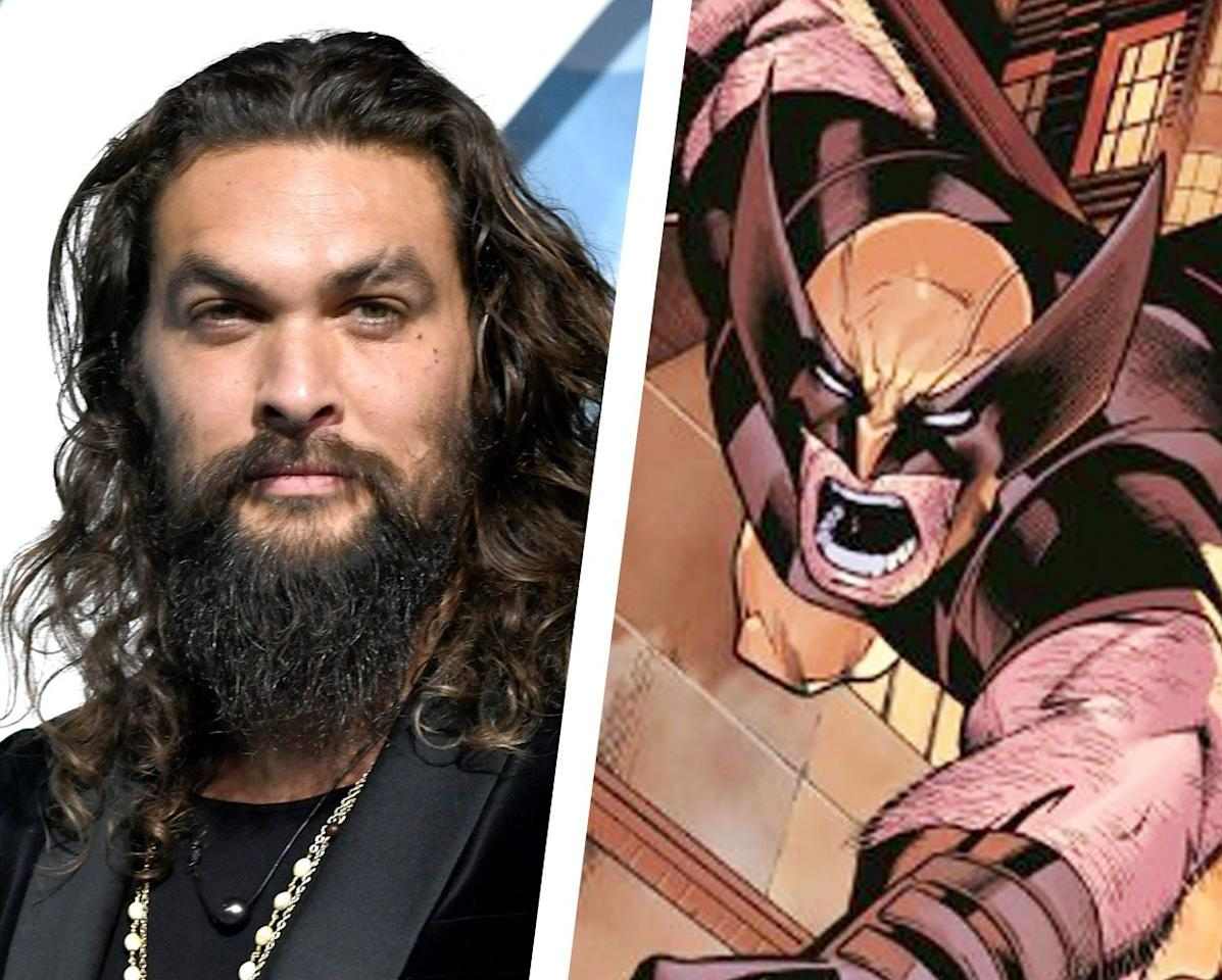 """<p>The latest to throw his name into the ring is someone with a bit of experience in the superhero world: Jason Momoa, who's turn as Aquaman made for D.C.'s most financially successful film to date.</p><p> At Celebrity Fan Fest in San Antonio, <a href=""""https://youtu.be/sUb_MotYFcU?t=1136"""">a fan asked Momoa</a> who he would want to play if given a chance to act in the Marvel universe. Momoa responded without hesitating at all: """"Wolverine,"""" drawing cheers from the crowd. """"Oh, I'd love to play Wolverine.""""</p><p>When the panel moderator noted that the role is probably about to be open (after Logan, and with the MCU's eventual integration of the X-Men), Momoa, with a big smile on his face, continued his train of thought.""""Hugh was phenomenal,"""" he added. """"I grew up just loving Wolverine."""" </p><p>While Momoa is obviously not the short-statured Wolverine of the comics, he would be a great fit, personality-wise. The edge and laid-back aura that he brings to Aquaman, and that he brought to Khal Drogo on <em>Game of Thrones</em> are qualities that would really shine in the MCU. </p><p>Plus, that wit would certainly come in handy when he eventually would appear alongside the likes of Tom Holland's Spider-Man and Chris Pratt's Star-Lord.</p>"""