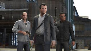 Grand Theft Auto V image: Credit Yahoo Games