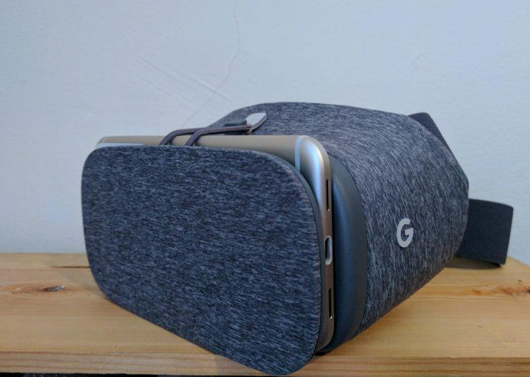 Daydream View in person.
