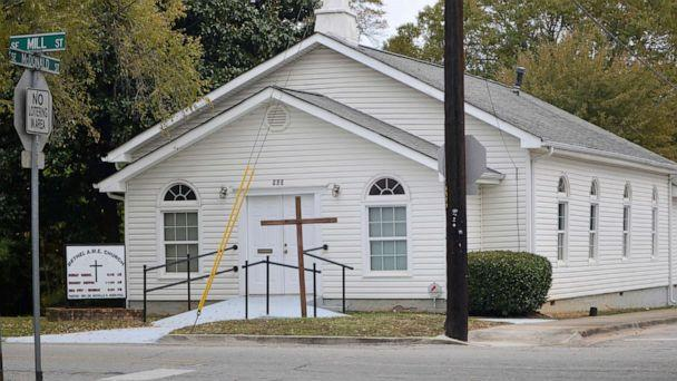 PHOTO: The Bethel African Methodist Episcopal Church is pictured in Gainesville, Ga., Nov. 19, 2019. (Nick Bowman/Gainesville Times via AP)