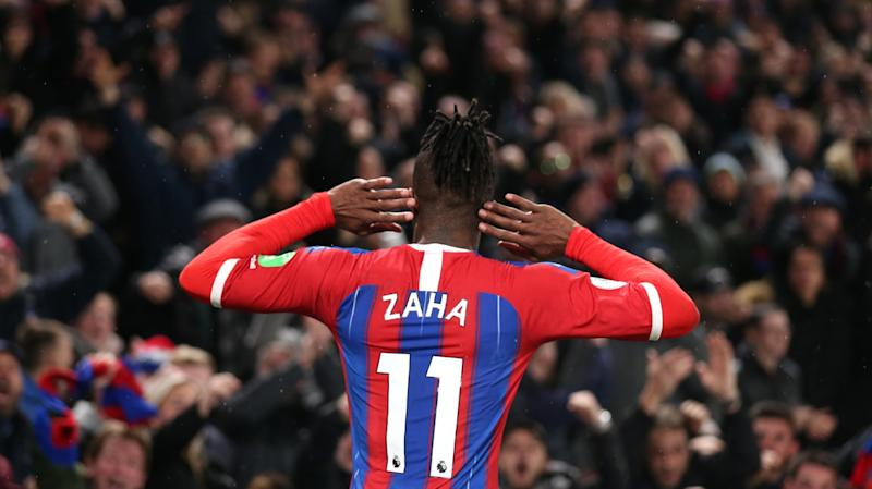 Zaha only played for Crystal Palace against Norwich because of his 'big heart for the club' - Hodgson