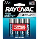 <p>When you're camping, having batteries is a must. These <span>Rayovac High Energy AA 1.5V Alkaline Batteries</span> ($3, originally $12) work with flashlights, gadgets, and so much more.</p>
