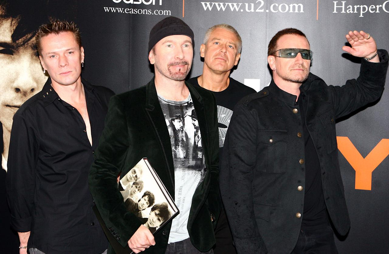 """U2/Bono/The Edge After ditching the names """"Feedback"""" and """"The Hype"""" as the band lineup changed, the final members settled on """"U2"""" for it's ambiguity and mostly because the band disliked the name the least. As for the singularly named U2 singer, whose birth name is Paul David Newson, he was nicknamed Bono thanks to a hearing aid store called Bonovox. While he initially didn't like the name, he kept it after learning """"bono vox"""" was also Latin for """"good voice."""" After the nick names """"Steinvic von Huyseman,"""" """"Huyseman,"""" """"Houseman,"""" """"Bon Murray,"""" """"Bono Vox of O'Connell Street,"""" he settled on just Bono. As for the origin of guitarist The Edge's name, it's rumored he was given it for this peripheral presence in the band. But as for an official story, the jury is still out!"""