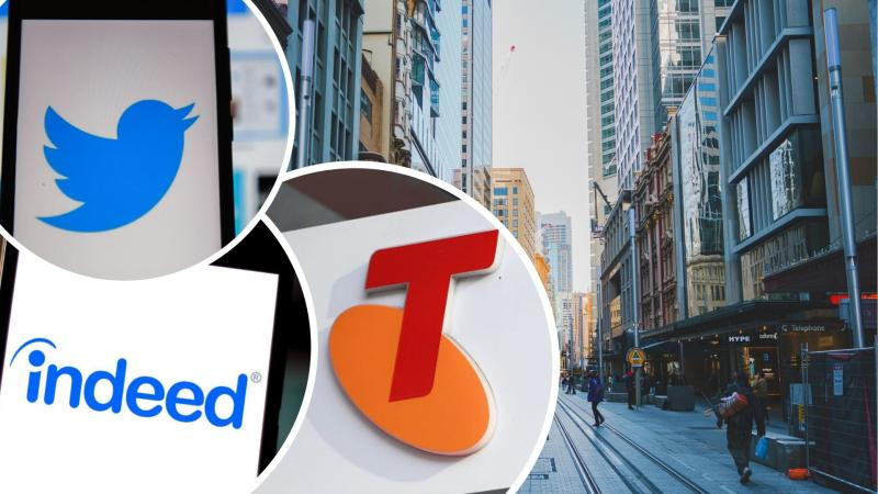 Telstra, Twitter and Indeed staff have all been told to work from home. Images: Getty