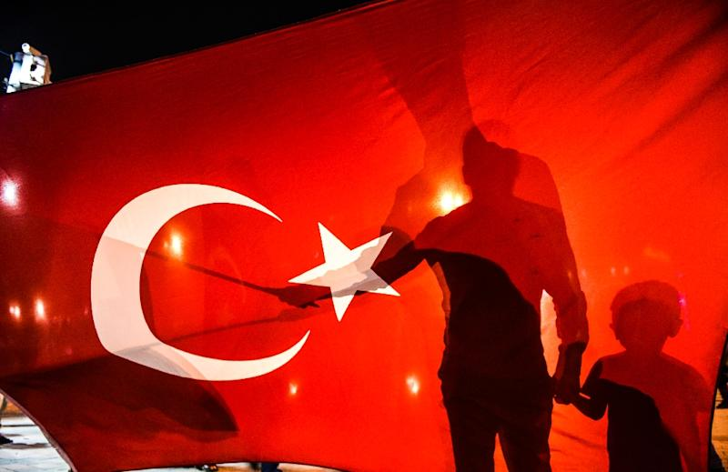 Turkey began formal membership talks in 2005 after years of foot-dragging by some EU member states such as France who were wary of admitting such a large Muslim country (AFP Photo/BULENT KILIC)