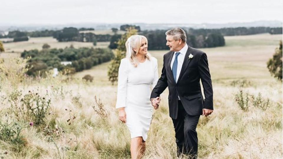 sam armytage wedding