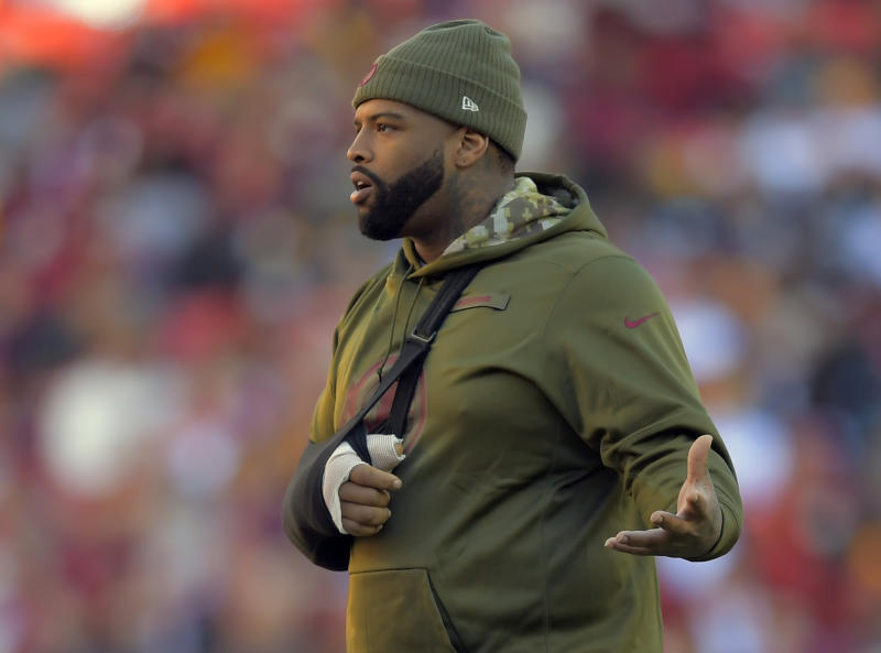 What now? The rift between Trent Williams and Washington may be too wide to cross. (John McDonnell/The Washington Post via Getty Images)