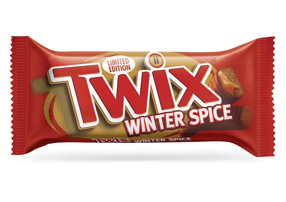 Twix has launched a limited edition treat for the festive season. (Mars/Wrigley)