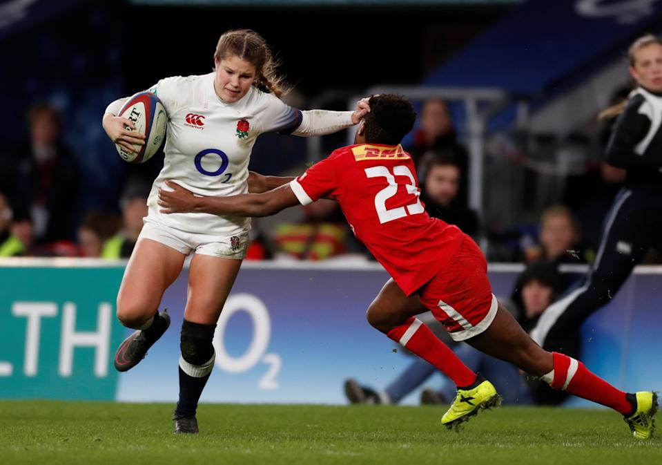 Jess Breach will start on the wing as England begin their Women's Six Nations defence against Scotland © Action Images via Reuters