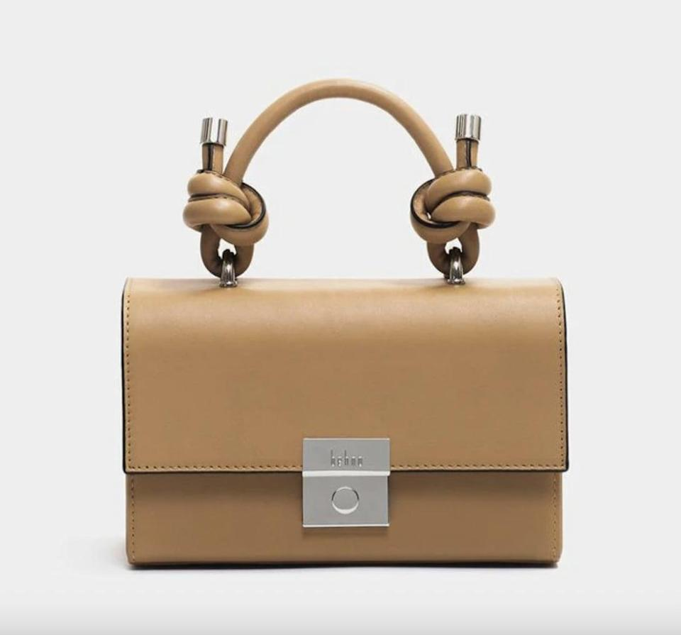 <p>I love the unique knot details on this <span>Mary Mini Bag</span> ($445). It comes in many different colors and textures.</p>