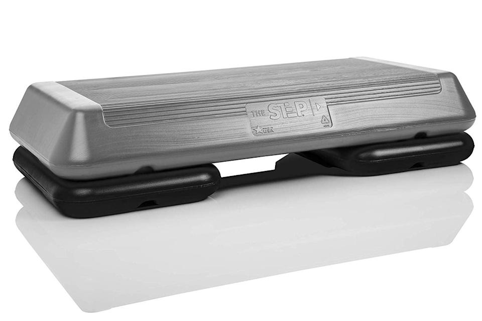 <p>This <span>The Step Original Aerobic Platform</span> ($32, originally $50) is great to use along with workout videos, and so versatile.</p>