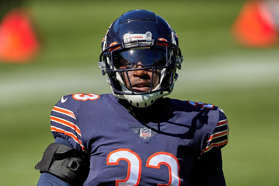 The Chicago Bears are counting on cornerback Jaylon Johnson stepping up even more this season. (Photo by Robin Alam/Icon Sportswire via Getty Images)