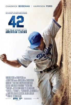Jackie Robinson Biopic '42′ Homers $27.3M But 'Scary Movie 5′ Bombs With $15.1M