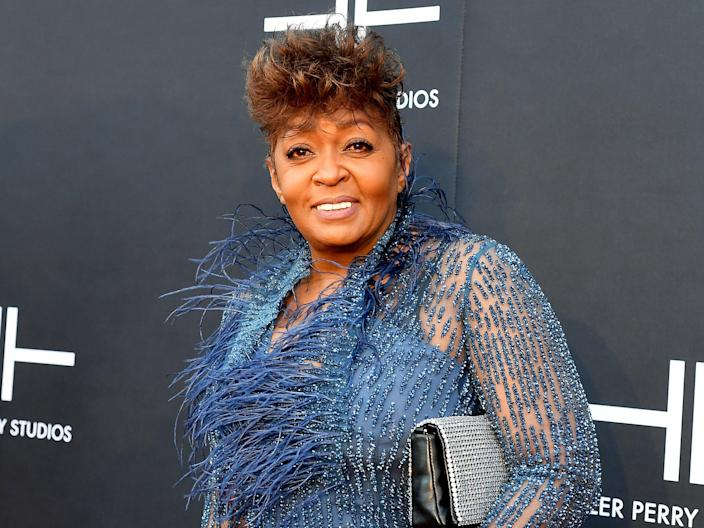 Anita Baker attends the grand opening of Tyler Perry Studios on 5 October 2019 in Atlanta, Georgia (Paras Griffin/Getty Images for Tyler Perry Studios)