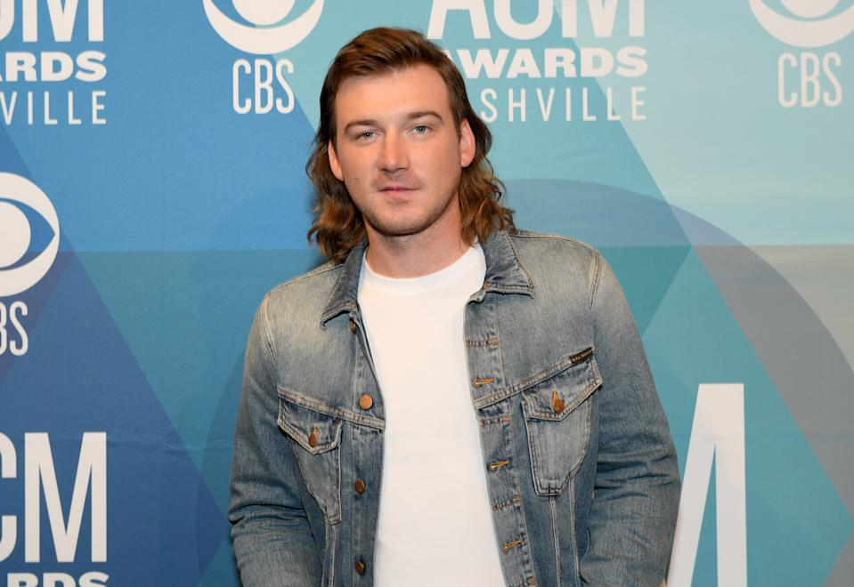 NASHVILLE, TENNESSEE - SEPTEMBER 13: Morgan Wallen attends the 55th Academy of Country Music Awards at the Grand Ole Opry on September 13, 2020 in Nashville, Tennessee. The 55th Academy of Country Music Awards is on September 16, 2020 with some live and some prerecorded segments. (Photo by Jason Kempin/ACMA2020/Getty Images for ACM)