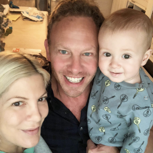 "<p>""90210 Reunion (SPOILER ALERT) … Donna and Steve got married and had a baby!"" joked the actress, in a shot with her former co-star and youngest son. ""Jk. Just hanging with Uncle @ianziering and #BabyBeau. But, if there were to be a reunion of sorts, what WOULD you want to see happen?"" she asked followers. Oh, Tori, you don't even have the time for the list of ideas we have. (Photo: <a href=""https://www.instagram.com/p/BdvGHbsjhoX/?taken-by=torispelling"" rel=""nofollow noopener"" target=""_blank"" data-ylk=""slk:Tori Spelling via Instagram"" class=""link rapid-noclick-resp"">Tori Spelling via Instagram</a>) </p>"