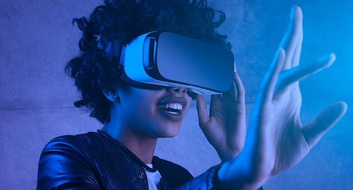 Major fashion brands are now using technological advances such as VR to create immersive, digital showcases. (Getty Images)