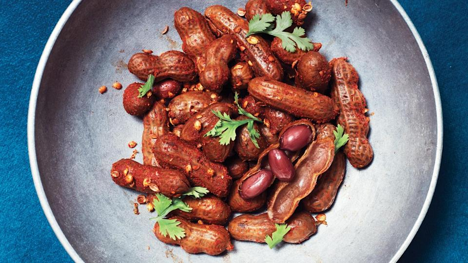 """<a href=""""https://www.bonappetit.com/recipe/boiled-peanuts-with-chile-salt?mbid=synd_yahoo_rss"""" rel=""""nofollow noopener"""" target=""""_blank"""" data-ylk=""""slk:See recipe."""" class=""""link rapid-noclick-resp"""">See recipe.</a>"""
