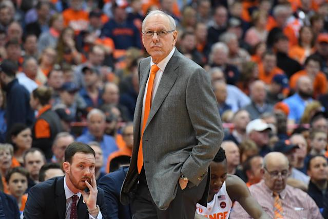Jim Boeheim isn't afraid to speak his mind. (Getty)