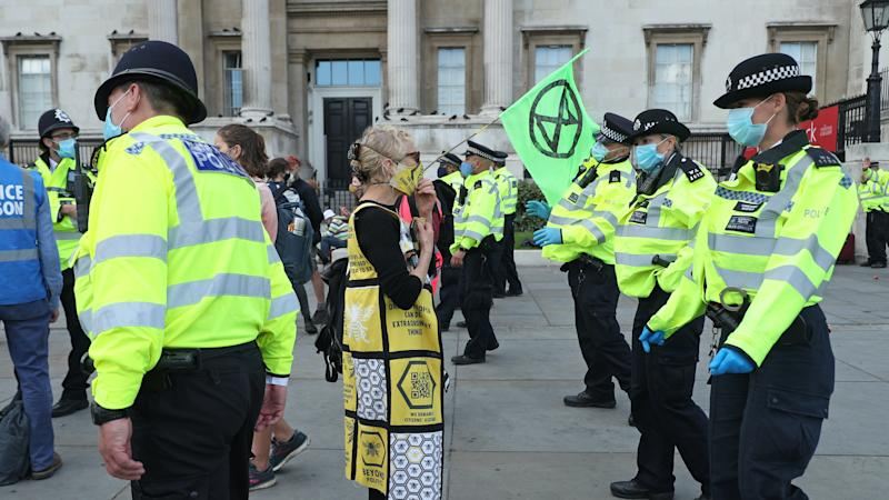 More than 600 arrested during five days of climate protests in London